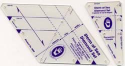 Perfect Patchwork Templates Storm At Sea Diamond / Rectangle Template Set