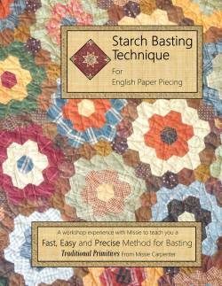 Starch Basting Technique for English Paper Piecing