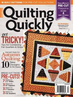 Quilting Quickly     September/October 2017