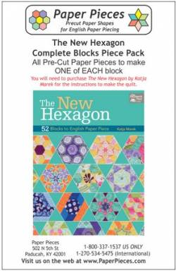 Papierschablonen The New Hexagon Paper Piece Pack