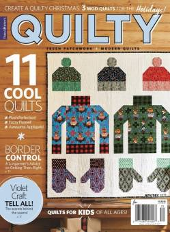 Quilty: Fresh Patchwork & Modern Quilts November/December 2017