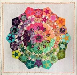 Anleitung + Papierschablonen  für Tula Nova Quilt
