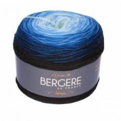 Bergere de France Unic Merinowolle Bobbel Bleu/Noir