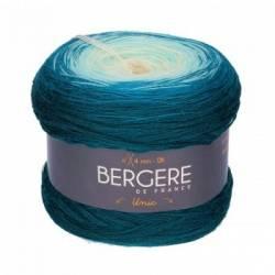 Bergere de France Unic Merinowolle Bobbel Ecru/Bouteille