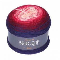Bergere de France Unic Merinowolle Bobbel Rose/Prune