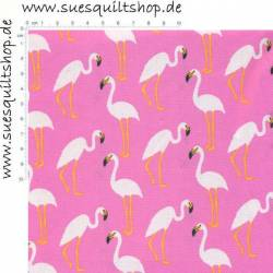 Troy Flamingos auf pink >>> Mini Bolt 2,25 m <<<