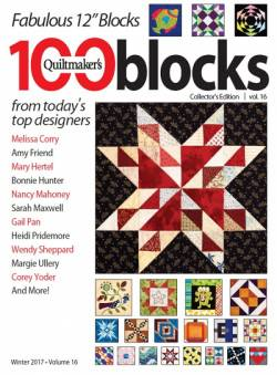 Quiltmakers 100 Quilt Blocks Volume 16