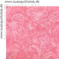 Santee Crown Floral rosa >>> Mindestbestellmenge 1 Meter <<<