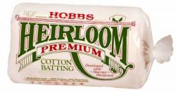Hobbs Heirloom 80/20 Cotton Batting NATUR    Twin Size 72x90 inch