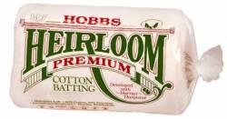 Hobbs Heirloom 80/20 Cotton Batting NATUR King Size 120x120 inch