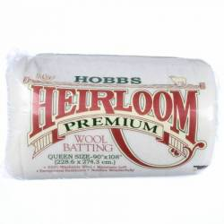 Hobbs Heirloom Wool Batting  Queen Size ca. 228,60 x 274,32 cm