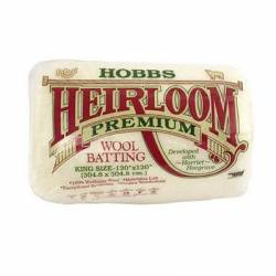 Hobbs Heirloom Wool Batting King Size ca. 304,8 x 304,8 cm