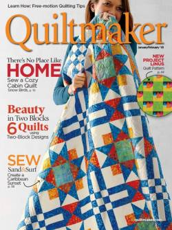 Quiltmaker No. 179 January/February 2018
