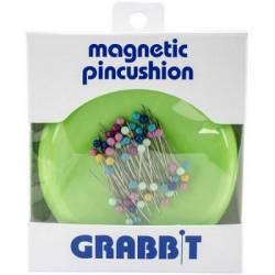 Grabbit, Magnetic Pin Cushion, Magnetisches Nadelkissen hellgrün