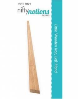 Little Wooden Iron für Linkshänder, Holzstab zum Bügeln von Paper Piecing