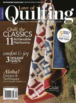 Fons And Porters Love of Quilting No. 132 November/December 2017