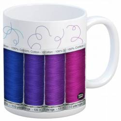 Quilt Happy - Spools Mug Kaffeebecher