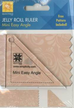 EZ Quilting Mini Easy Angle Jelly Roll Ruler