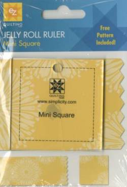 EZ Quilting Mini Square Jelly Roll Ruler