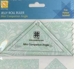 EZ Quilting Mini Easy Companion Angle Jelly Roll Ruler