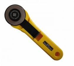 Rollschneider gelb 45 mm