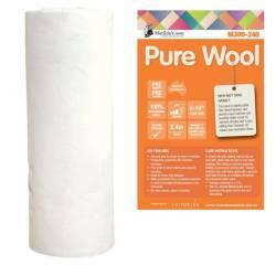 Matilda 100% Wool Wollvlies ca. 240 cm breit