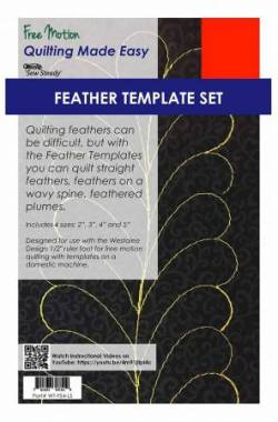 Westalee Templates Feathers High Shank