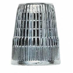 Fingerhut aus Metall, Slip Stop (mit erhöhtem Rand) 15 mm