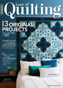 Fons And Porters Love of Quilting No. 133 January/February 2018