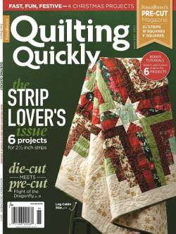 Quilting Quickly    November/December 2017