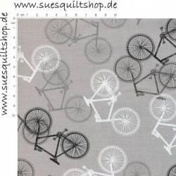 Wilmington Grey Bike Toss, Fahrräder grau