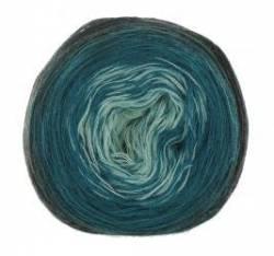 Wooly Hugs Merinowolle Bobbel Black Mint