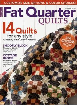 Fat Quarter Quilts Winter 2018