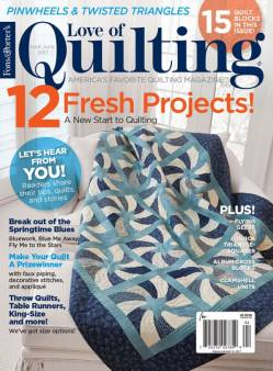 Fons And Porters Love of Quilting No. 128 March/April 2017