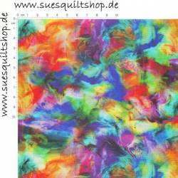 3 Wishes Fabric Digital Print Multi Abstract Texture Digitaldruck multicolor abstract