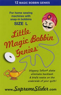 Little Genie Magic Bobbin Washer (12 stk. pro Packung)