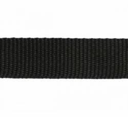 Gurtband Polypropylen 25 mm schwarz