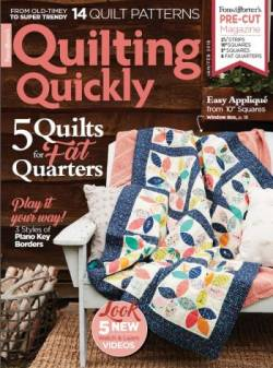 Quilting Quickly   January/February 2018