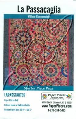 PAPIERschablonen Starter Pack für La Passacaglia