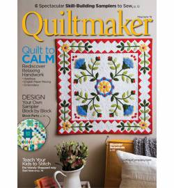 Quiltmaker No.  181 May/June 2018