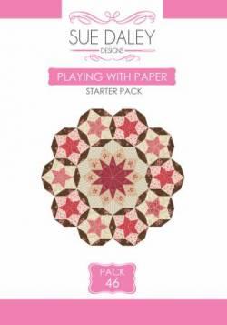 Acryl- und Papierschablonen Playing With Paper Pack 46 Ballet with Kaffe Fassett