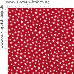Spectrix Sterne weiss auf rot