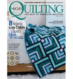 McCalls Quilting May/June 2018