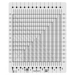 Creative Grids Stripology Squared Ruler 14.75x18 inch