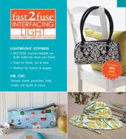 Fast2Fuse Vlies Lightweight, leichtere Qualität, beidseitig aufbügelbar (15x18 inch)