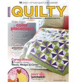 Quilty: Fresh Patchwork & Modern Quilts May/June 2018