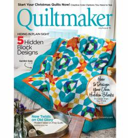 Quiltmaker No. 182 July/August 2018