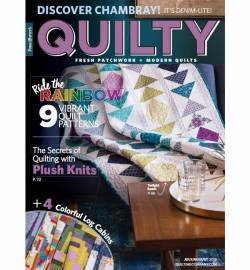 Quilty: Fresh Patchwork & Modern Quilts July/August 2018