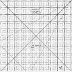 Sew Square 10 Ruler