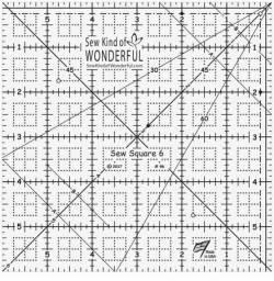Sew Square 6 Ruler